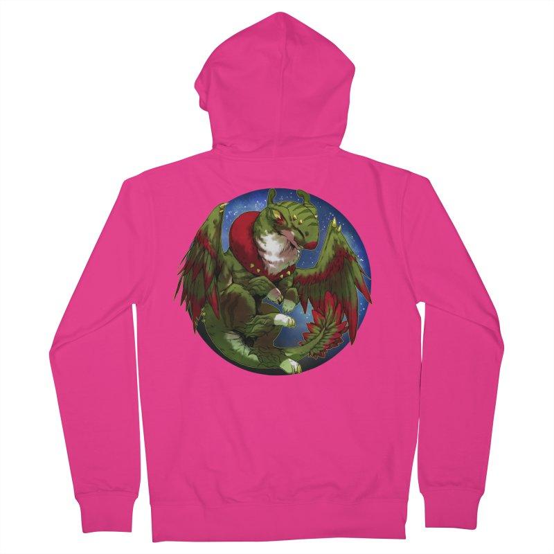 Yuletide Joy Snowglobe Men's Zip-Up Hoody by AdeptGamer's Merchandise