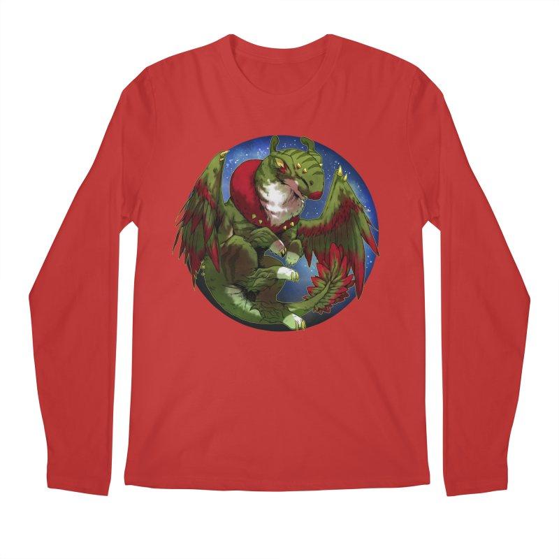 Yuletide Joy Snowglobe Men's Regular Longsleeve T-Shirt by AdeptGamer's Merchandise