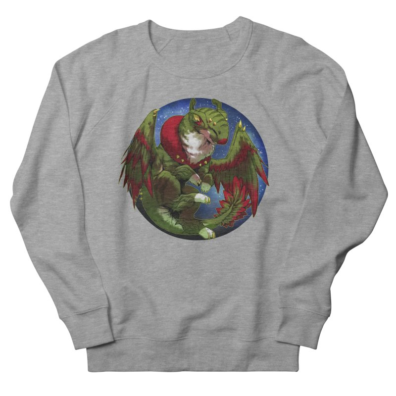 Yuletide Joy Snowglobe Women's French Terry Sweatshirt by AdeptGamer's Merchandise