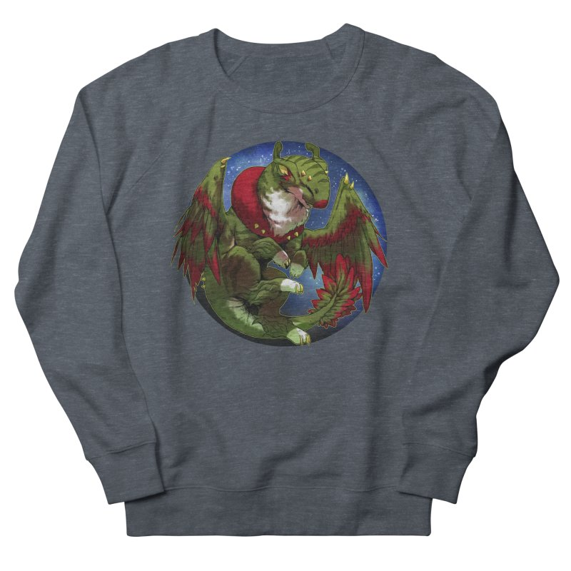 Yuletide Joy Snowglobe Men's French Terry Sweatshirt by AdeptGamer's Merchandise