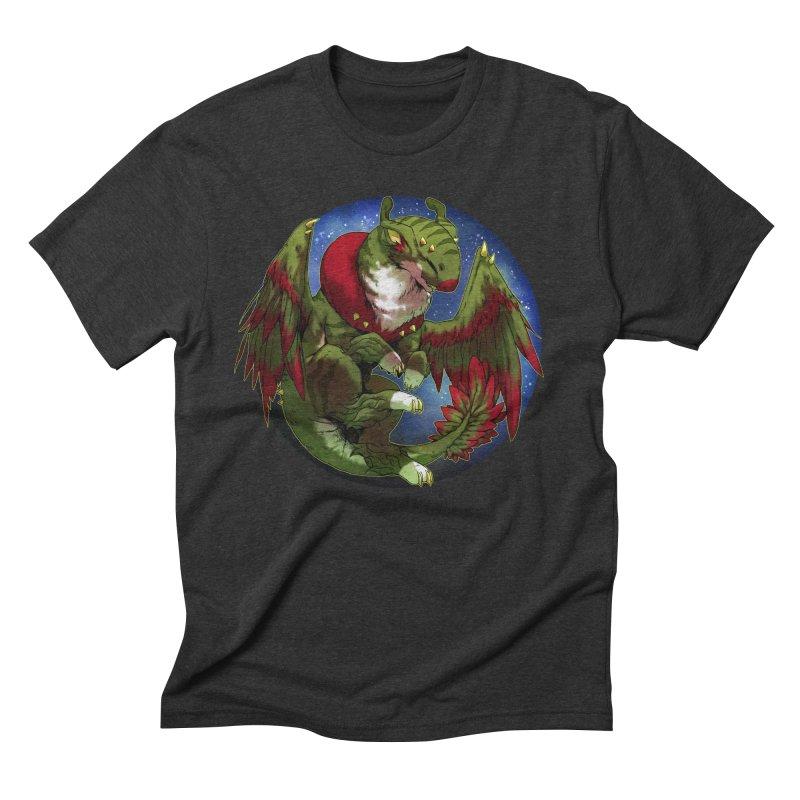 Yuletide Joy Snowglobe Men's Triblend T-Shirt by AdeptGamer's Merchandise