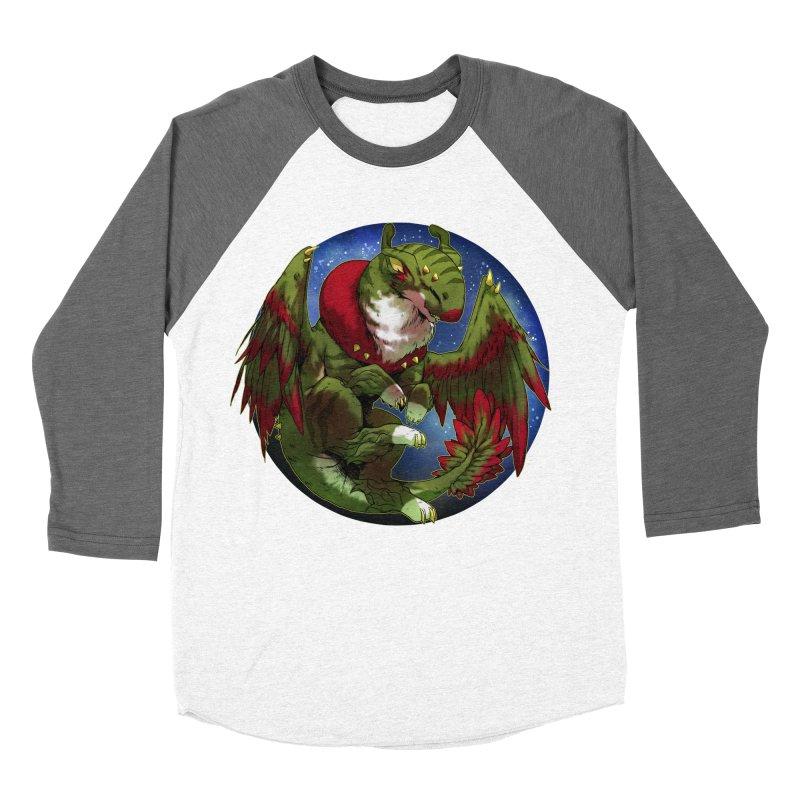 Yuletide Joy Snowglobe Women's Baseball Triblend Longsleeve T-Shirt by AdeptGamer's Merchandise