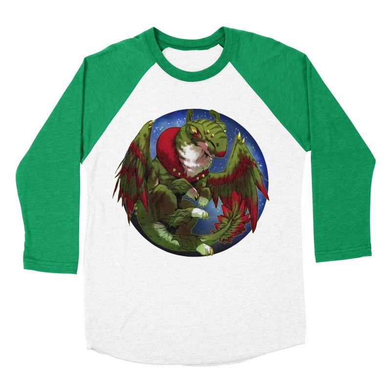 Yuletide Joy Snowglobe Men's Baseball Triblend Longsleeve T-Shirt by AdeptGamer's Merchandise