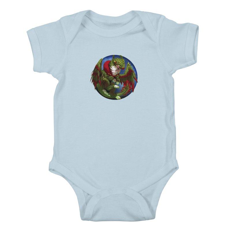 Yuletide Joy Snowglobe Kids Baby Bodysuit by AdeptGamer's Merchandise