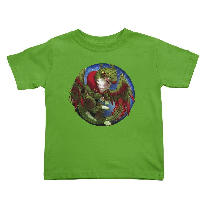 Yuletide Joy Snowglobe Kids Toddler T-Shirt by AdeptGamer's Merchandise