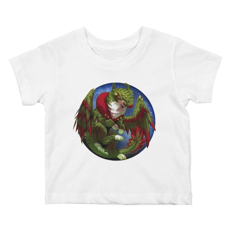 Yuletide Joy Snowglobe Kids Baby T-Shirt by AdeptGamer's Merchandise