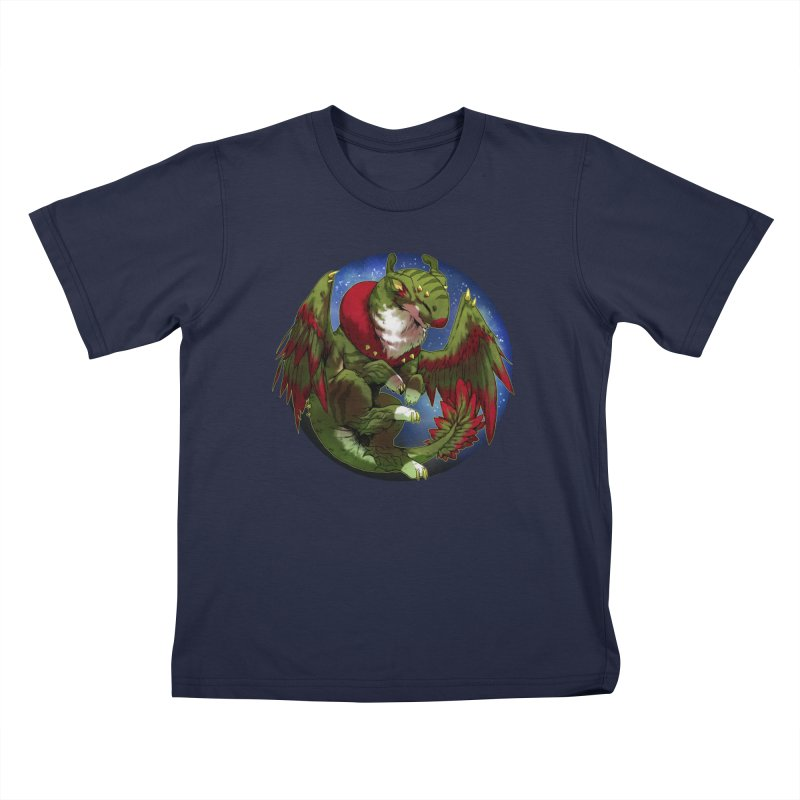 Yuletide Joy Snowglobe Kids T-Shirt by AdeptGamer's Merchandise
