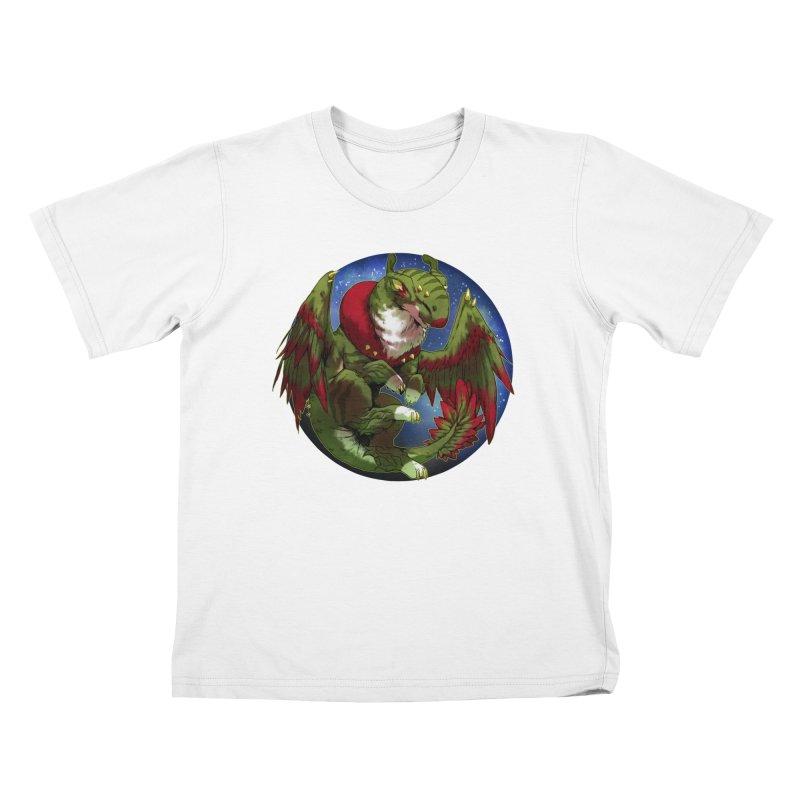 Yuletide Joy Snowglobe Kids T-Shirt by AdeptGamer's Merchandise