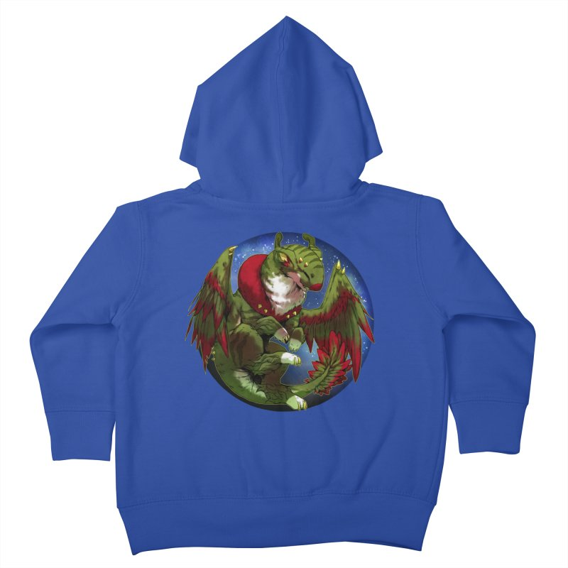 Yuletide Joy Snowglobe Kids Toddler Zip-Up Hoody by AdeptGamer's Merchandise