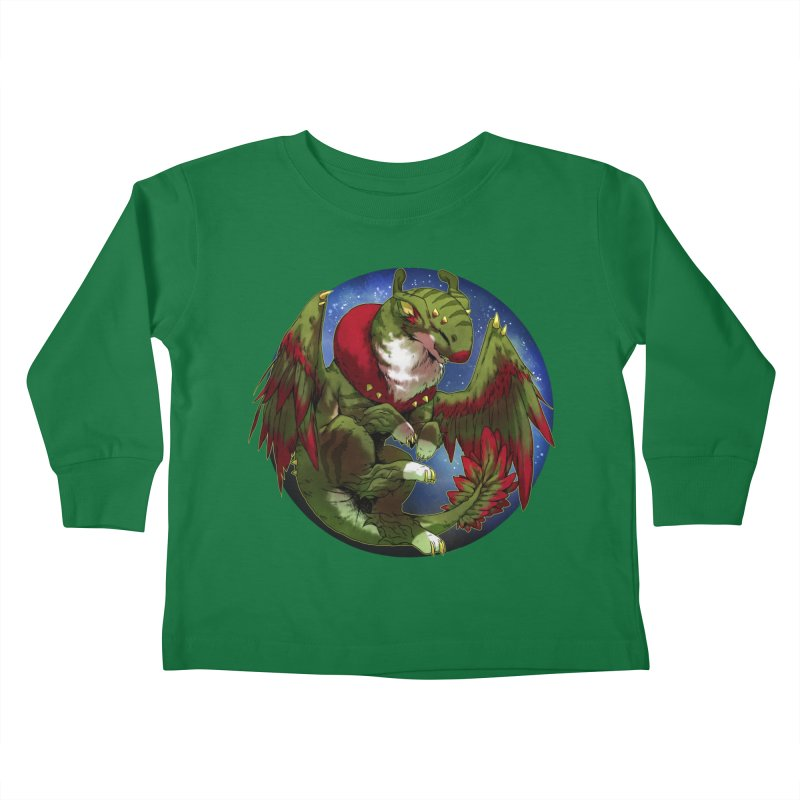 Yuletide Joy Snowglobe Kids Toddler Longsleeve T-Shirt by AdeptGamer's Merchandise