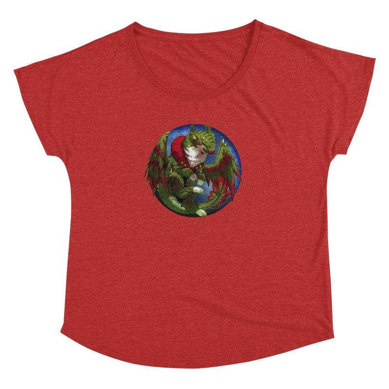Yuletide Joy Snowglobe Women's Dolman by AdeptGamer's Merchandise