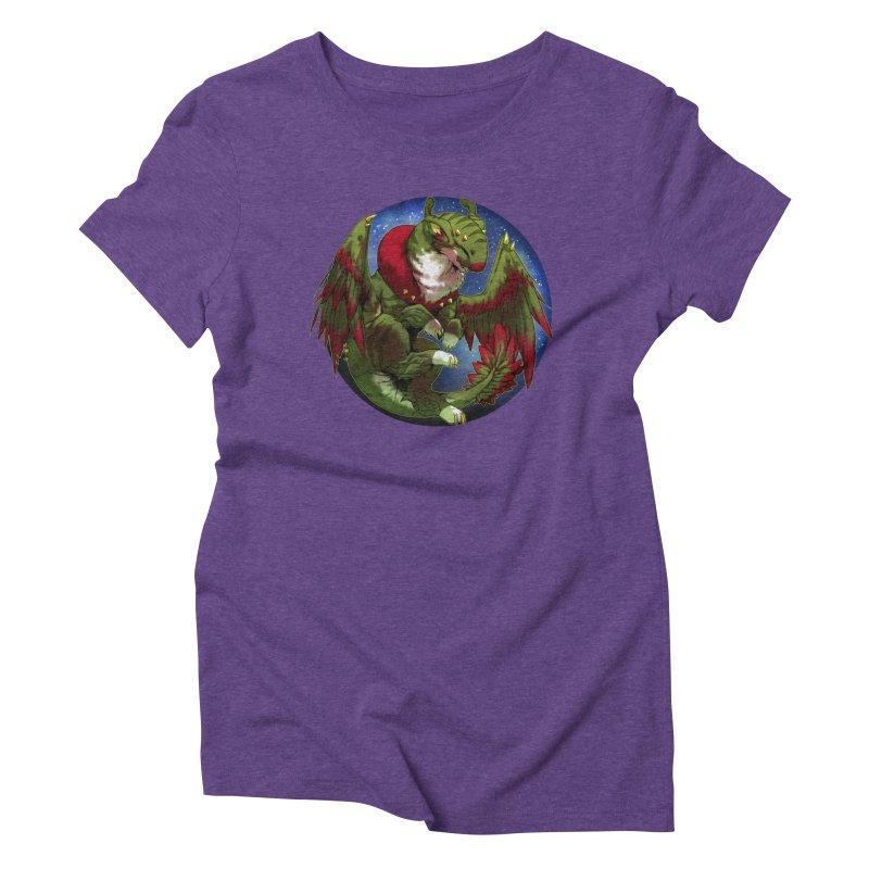 Yuletide Joy Snowglobe Women's Triblend T-Shirt by AdeptGamer's Merchandise