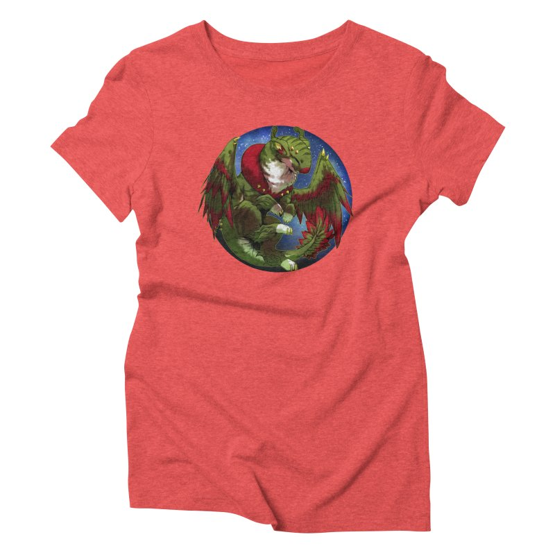 Yuletide Joy Snowglobe Women's Triblend T-Shirt by AdeptGamer's Merchandise