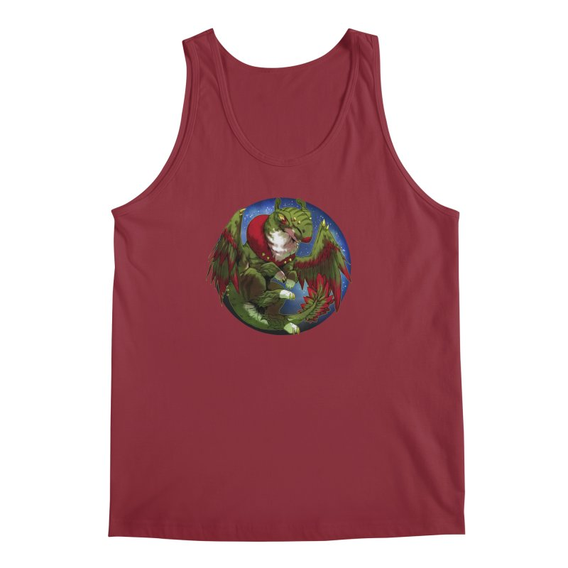 Yuletide Joy Snowglobe Men's Regular Tank by AdeptGamer's Merchandise