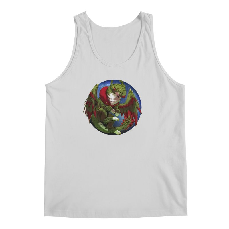 Yuletide Joy Snowglobe Men's Tank by AdeptGamer's Merchandise