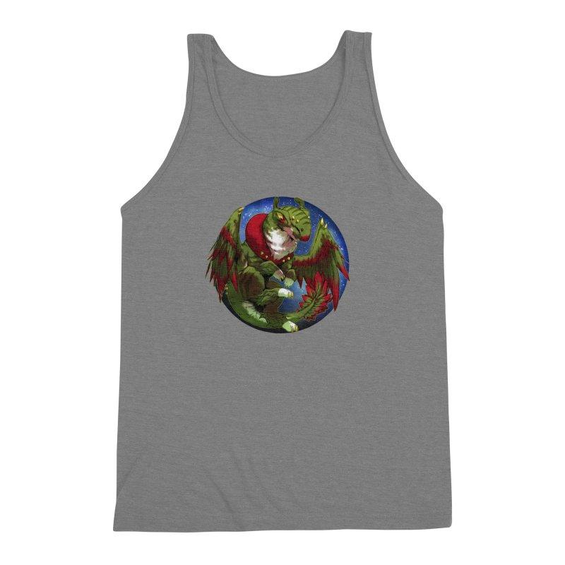 Yuletide Joy Snowglobe Men's Triblend Tank by AdeptGamer's Merchandise