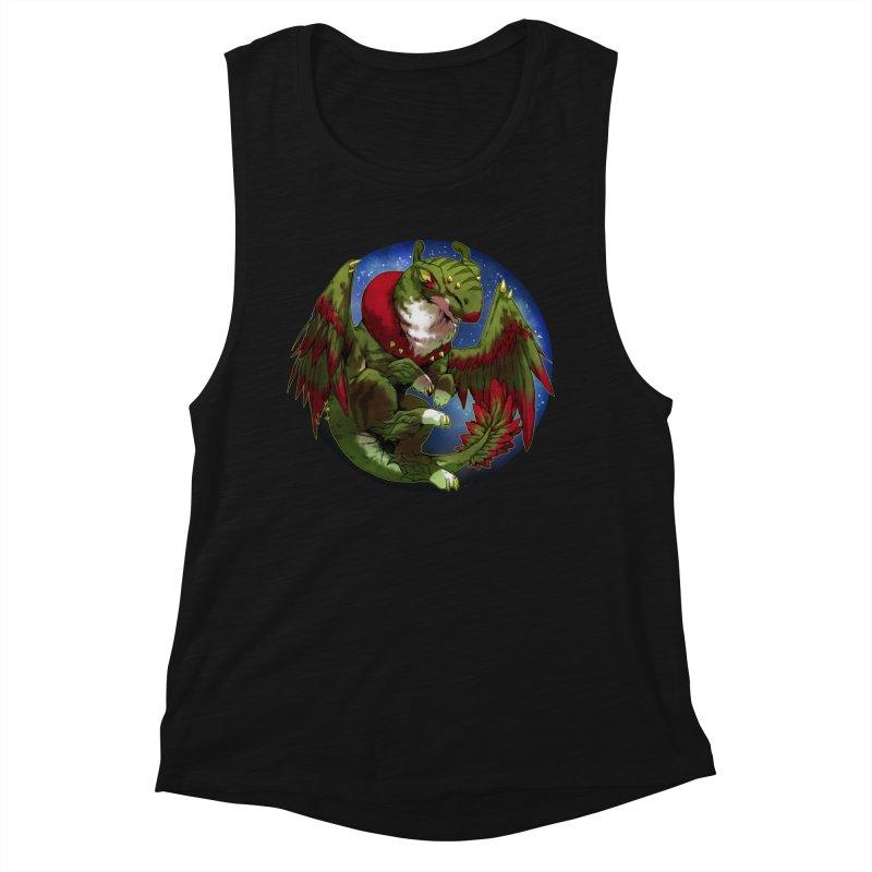 Yuletide Joy Snowglobe Women's Muscle Tank by AdeptGamer's Merchandise