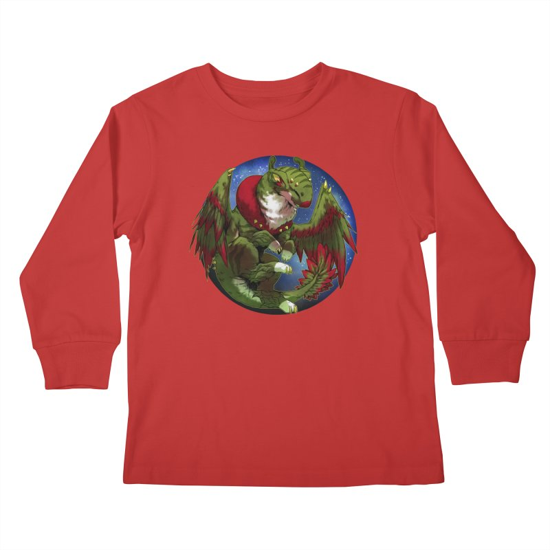 Yuletide Joy Snowglobe Kids Longsleeve T-Shirt by AdeptGamer's Merchandise