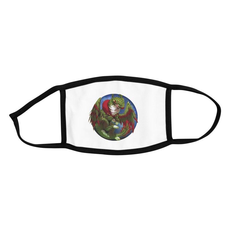 Yuletide Joy Snowglobe Accessories Face Mask by AdeptGamer's Merchandise