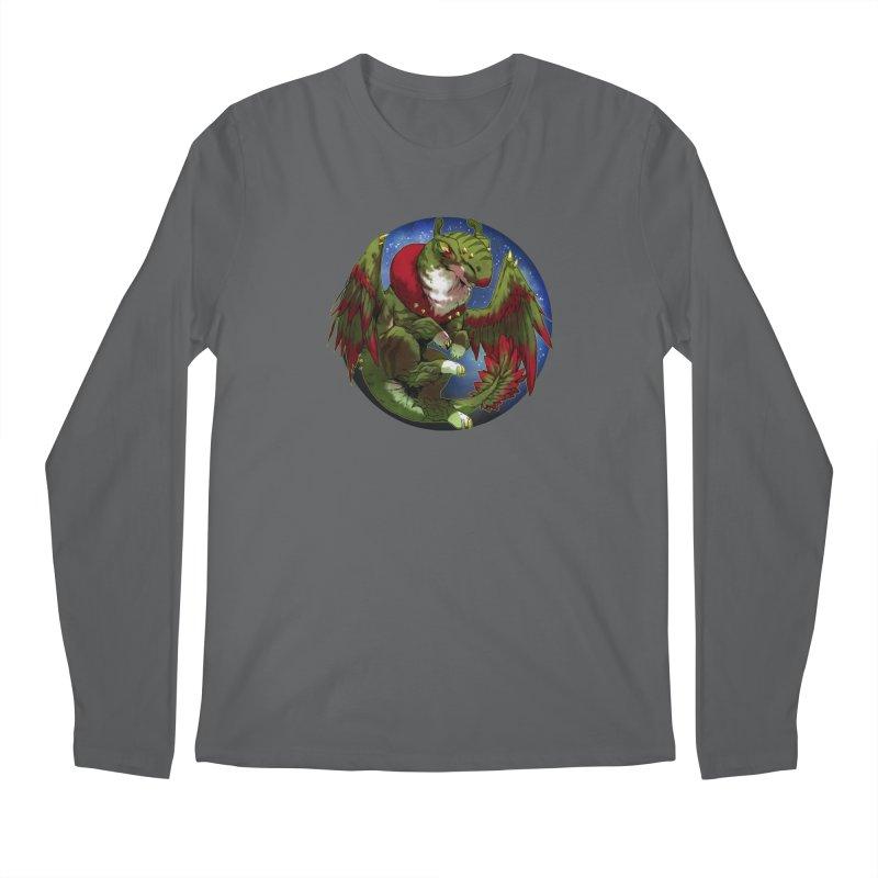 Yuletide Joy Snowglobe Men's Longsleeve T-Shirt by AdeptGamer's Merchandise