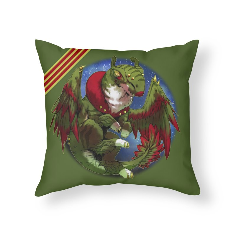 Yuletide Joy Snowglobe Home Throw Pillow by AdeptGamer's Merchandise