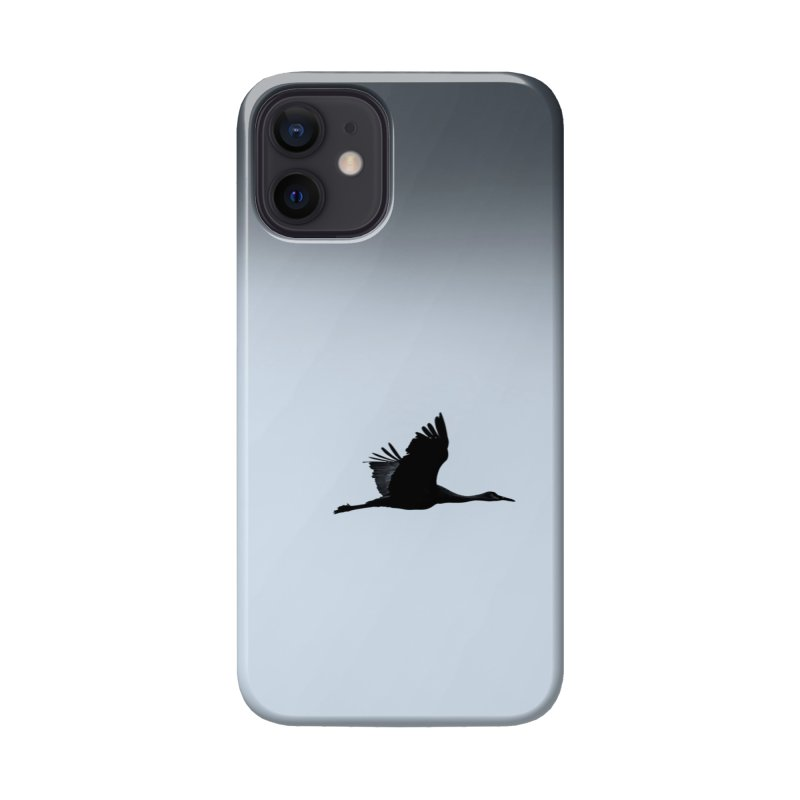 Cranes In Flight Cards & Gifts Phone Case by Glassmeyer Photography Print and Gift Shop