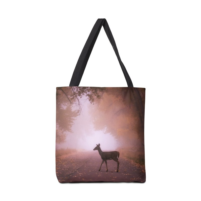Foggy Doe Cards & Gifts Bag by Glassmeyer Photography Print and Gift Shop