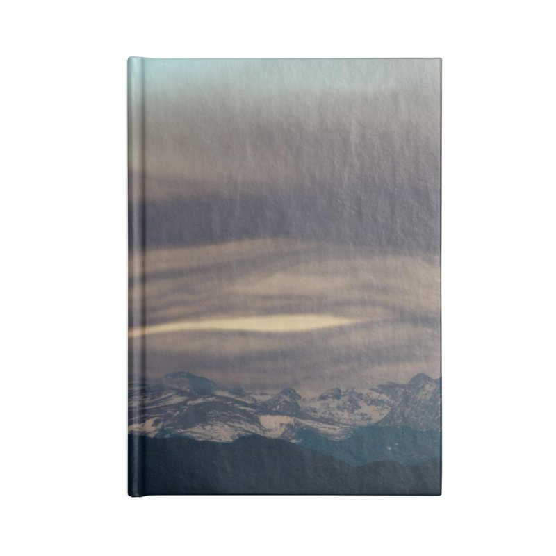 Wavy Clouds Cards & Gifts Notebook by Glassmeyer Photography Print and Gift Shop