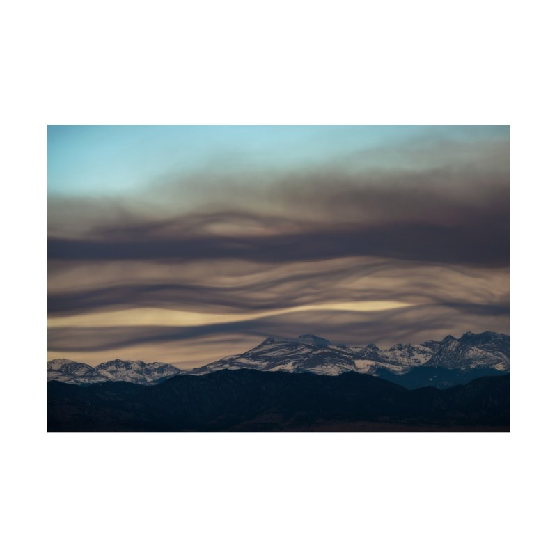 Wavy Clouds Cards & Gifts Mug by Glassmeyer Photography Print and Gift Shop