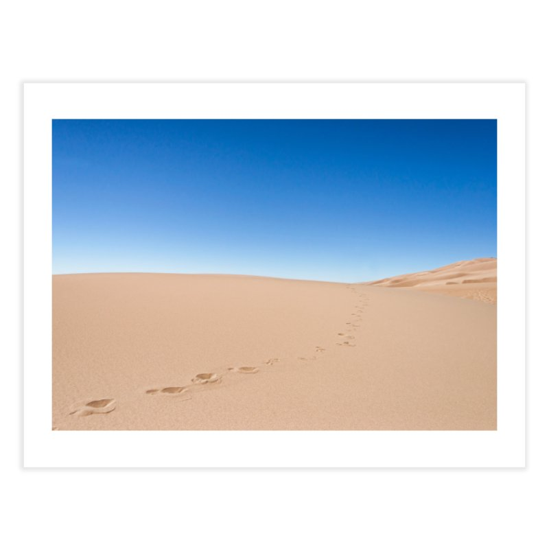 Footprints in the Sand Prints Fine Art Print by Glassmeyer Photography Print and Gift Shop