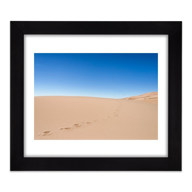 Footprints in the Sand Prints Framed Fine Art Print by Glassmeyer Photography Print and Gift Shop