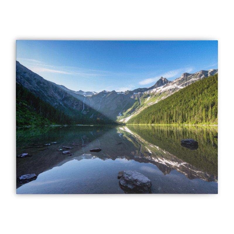 First Light Prints Stretched Canvas by Glassmeyer Photography Print and Gift Shop