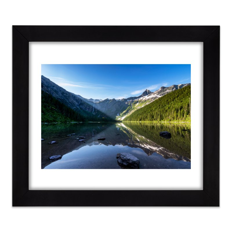 First Light Prints Framed Fine Art Print by Glassmeyer Photography Print and Gift Shop