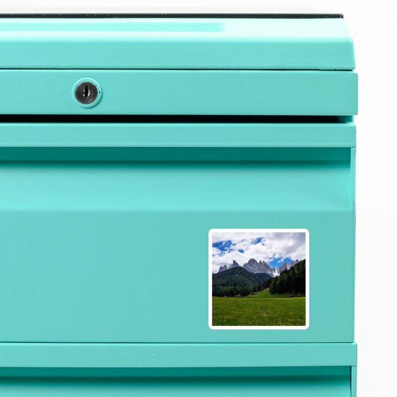 Dolomiti Cards & Gifts Magnet by Glassmeyer Photography Print and Gift Shop