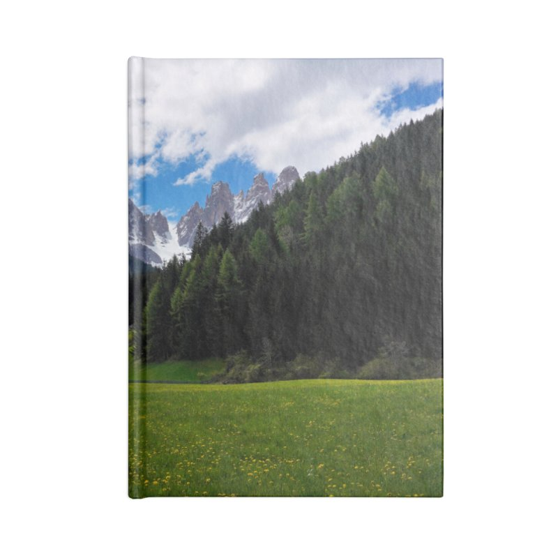 Dolomiti Cards & Gifts Notebook by Glassmeyer Photography Print and Gift Shop