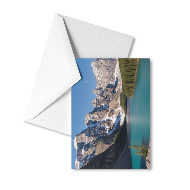 Moraine Lake Cards & Gifts Greeting Card by Glassmeyer Photography Print and Gift Shop