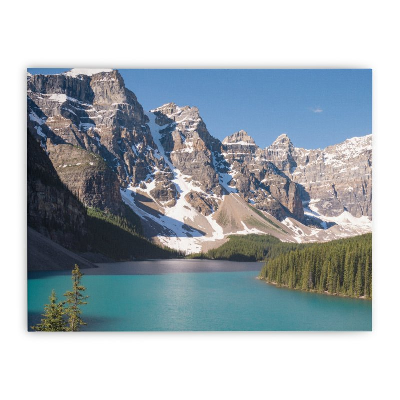 Moraine Lake Prints Stretched Canvas by Glassmeyer Photography Print and Gift Shop