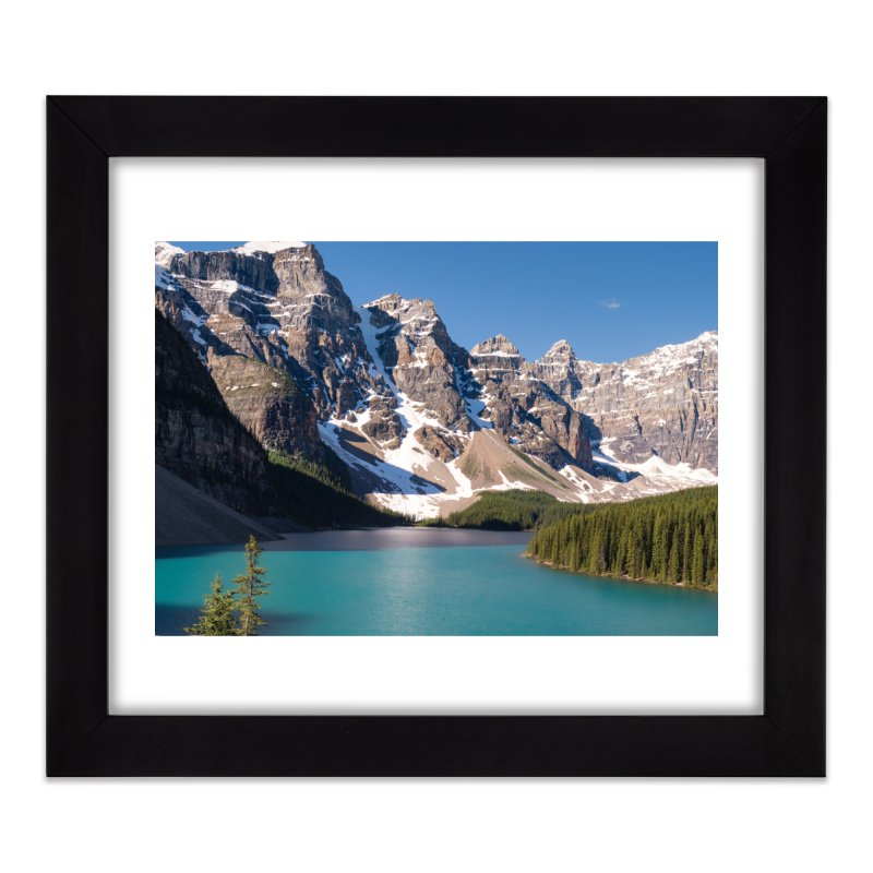 Moraine Lake Prints Framed Fine Art Print by Glassmeyer Photography Print and Gift Shop