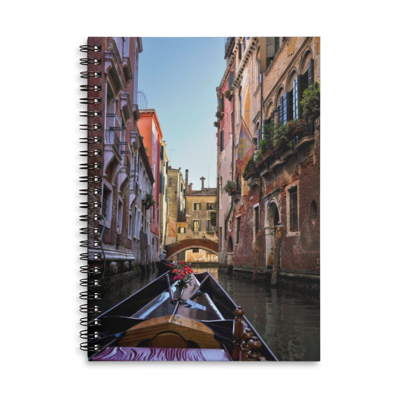 Venetian Gondola Ride Cards & Gifts Notebook by Glassmeyer Photography Print and Gift Shop