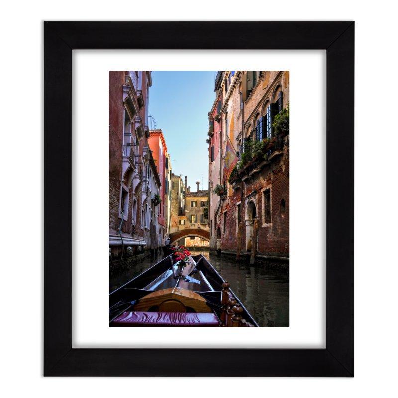 Venetian Gondola Ride Prints Framed Fine Art Print by Glassmeyer Photography Print and Gift Shop