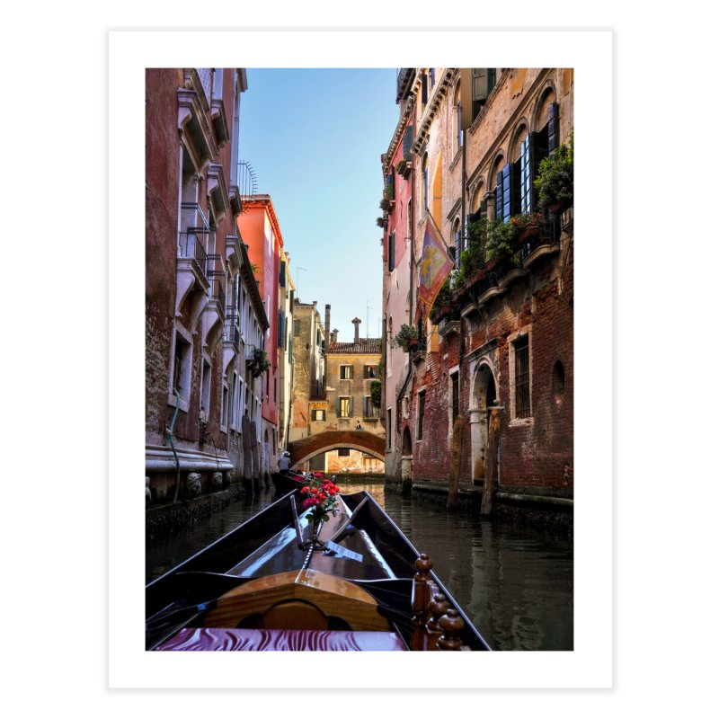 Venetian Gondola Ride Prints Fine Art Print by Glassmeyer Photography Print and Gift Shop