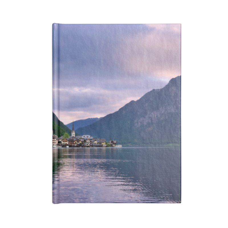 Hallstatt Cards & Gifts Notebook by Glassmeyer Photography Print and Gift Shop