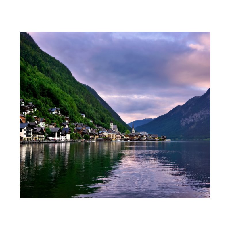 Hallstatt Cards & Gifts Magnet by Glassmeyer Photography Print and Gift Shop