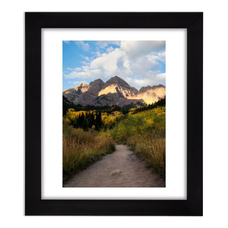 Maroon Bells Prints Framed Fine Art Print by Glassmeyer Photography Print and Gift Shop