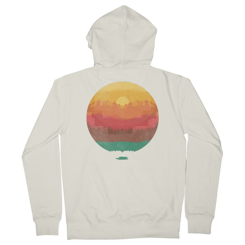 Layers Of Nature Men's Zip-Up Hoody by adilsiddiqui's Artist Shop