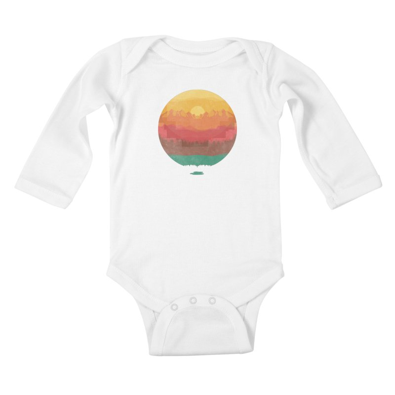 Layers Of Nature Kids Baby Longsleeve Bodysuit by adilsiddiqui's Artist Shop