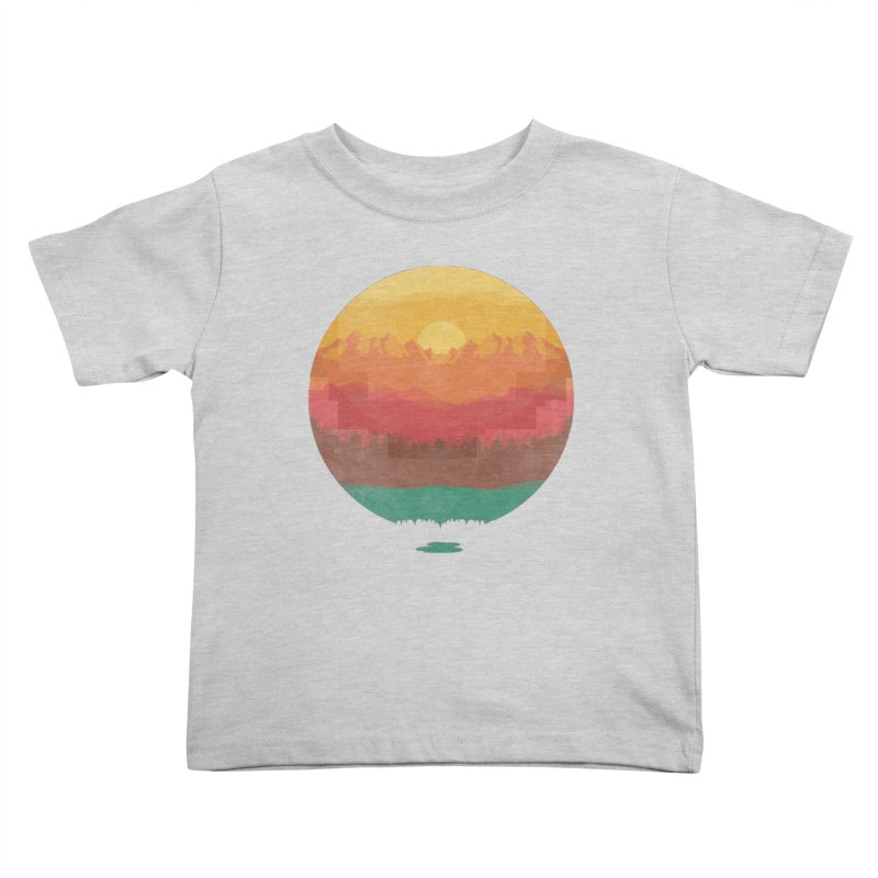 Layers Of Nature Kids Toddler T-Shirt by adilsiddiqui's Artist Shop