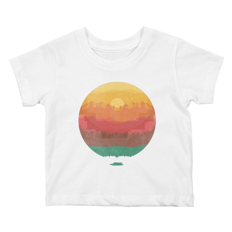 Layers Of Nature Kids Baby T-Shirt by adilsiddiqui's Artist Shop