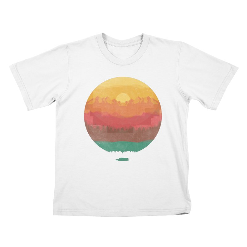 Layers Of Nature Kids T-shirt by adilsiddiqui's Artist Shop