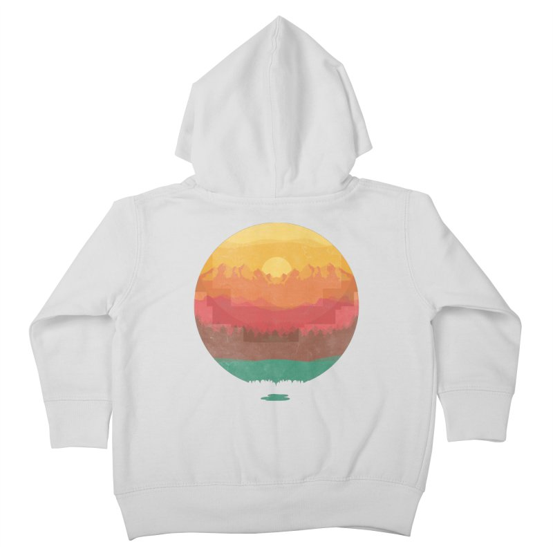 Layers Of Nature Kids Toddler Zip-Up Hoody by adilsiddiqui's Artist Shop